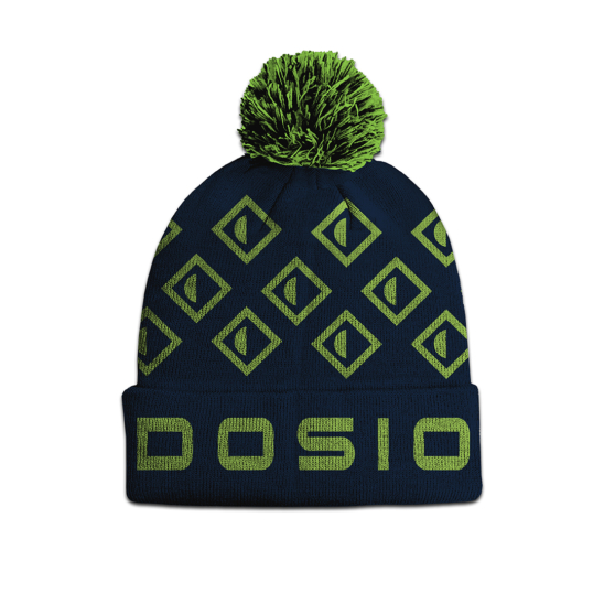 Papadosio Winter Logo Pom Beanie Back